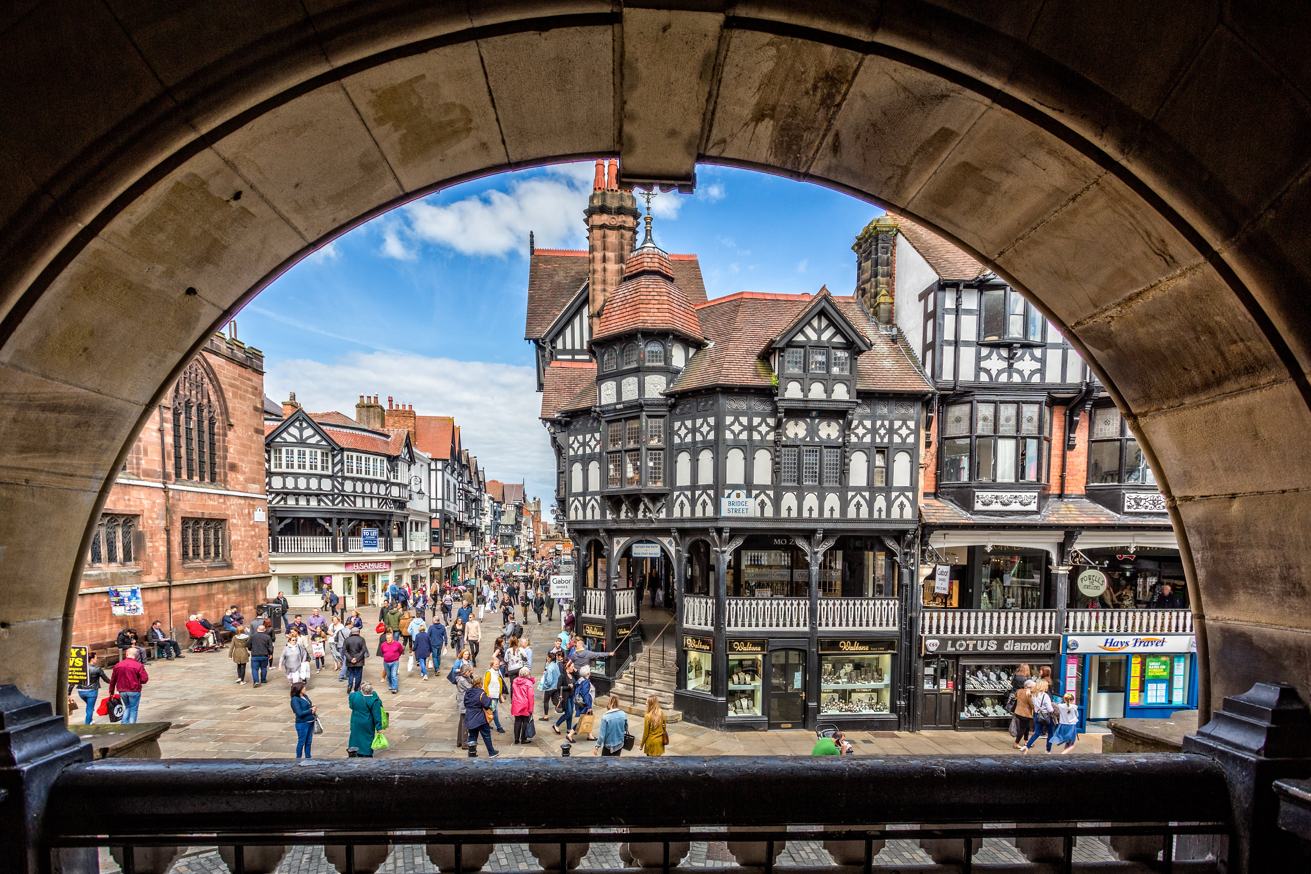Chester city
